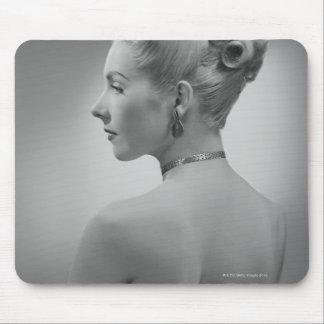Elegant Woman Mouse Pad