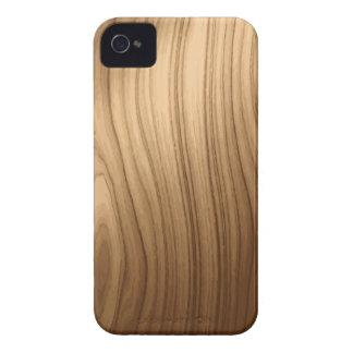Elegant Wooden Style Blackberry Bold Case