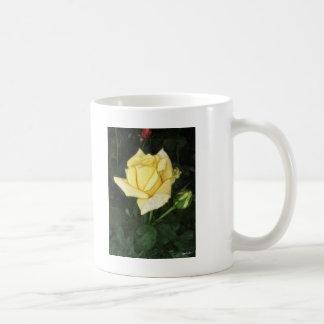Elegant Yellow Rose 1 Painterly Coffee Mug