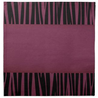 Elegant, Zebra, Stylish, Animal print Napkin