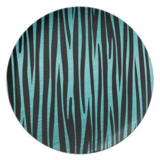 Elegant, Zebra, Stylish, Animal print Plate