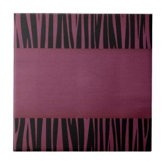 Elegant, Zebra, Stylish, Animal print Tile