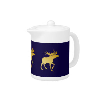 Elegantly Luxurious Gold Antler Deer