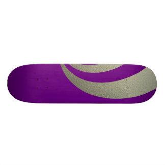 Eleganza 01 violet custom skate board