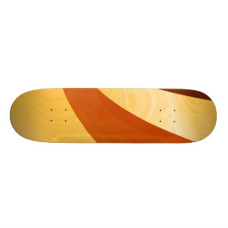 Eleganza 07 golden custom skate board