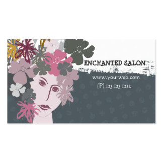 Elegat Female Blooming Spring Flower Goddess Pack Of Standard Business Cards