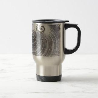 Elegent and Sheak Silver Design Stainless Steel Travel Mug