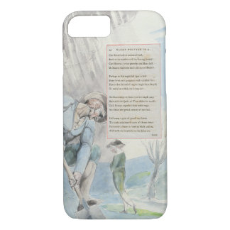 'Elegy written in a Counrty Church-Yard', design 1 iPhone 7 Case