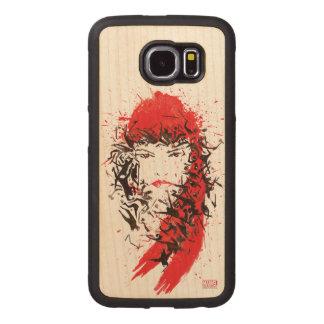 Elektra - Blood of her enemies Wood Phone Case