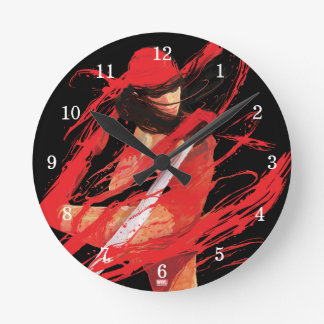 Elektra Fluidity Round Clock