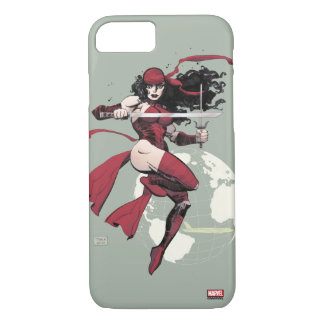 Elektra Traveling The World iPhone 7 Case