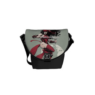 Elektra Traveling The World Messenger Bag
