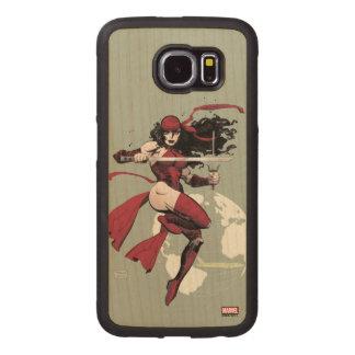 Elektra Traveling The World Wood Phone Case
