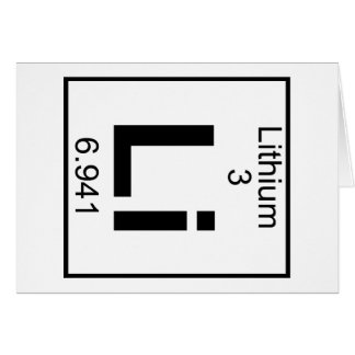 Element 003 - Li - Lithium (Full) Card