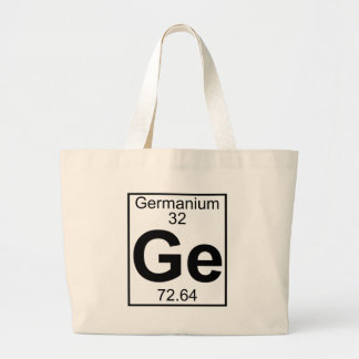 Element 032 - Ge - Germanium (Full) Jumbo Tote Bag