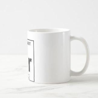 Element 038 - Sr - Strontium (Full) Coffee Mug