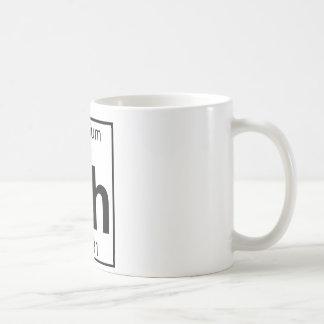 Element 045 - Rh - Rhodium (Full) Coffee Mug