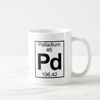 Element 046 - Pd - Palladium (Full) Coffee Mug