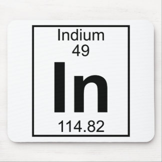 Element 049 - In - Indium (Full) Mouse Pads