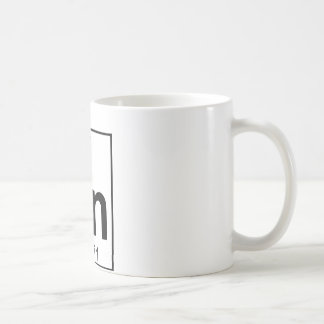 Element 050 - Sn - Tin (Full) Basic White Mug