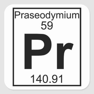an overview of the chemical element praseodymium Praseodymium is one of the most abundant of the rare earth elements, but it is  decidedly less plentiful than lanthanum or neodymium the relative proportions  of.