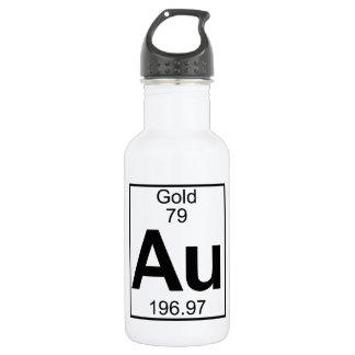 Element 079 - Au - Gold (Full) 532 Ml Water Bottle