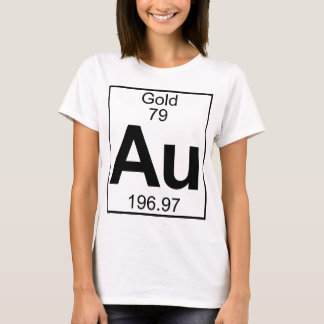 Element 079 - Au - Gold (Full) T-Shirt