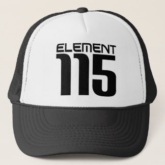 Element 115 (black) trucker hat