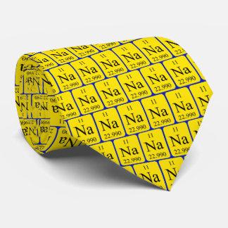 Element 11 tie - Sodium