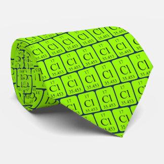 Element 17 Chlorine tie Transparent graphics