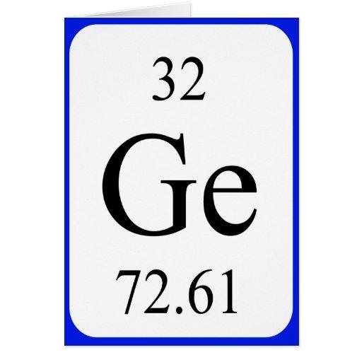 Germanium Element Symbol