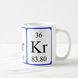 Element 36 mug - Krypton