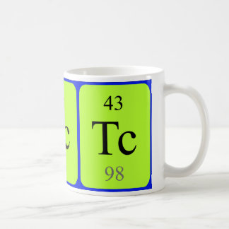 Element 43 mug - Technetium