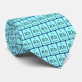 Element 45 Rhodium tie Transparent graphics