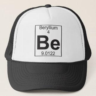 Element 4 - be (beryllium) trucker hat