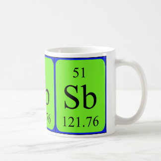 Element 51 mug - Antimony