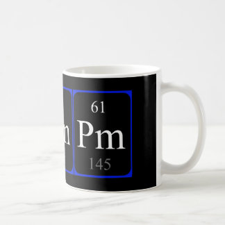 Element 61 mug - Promethium