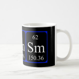 Element 62 mug - Samarium