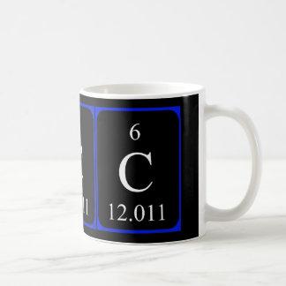 Element 6 mug - Carbon