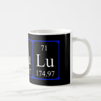 Element 71 mug - Lutetium