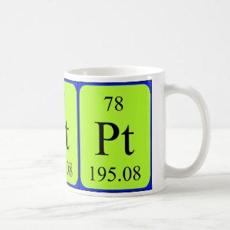 Element 78 mug - Platinum