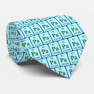 Element 91 tie - Protactinium