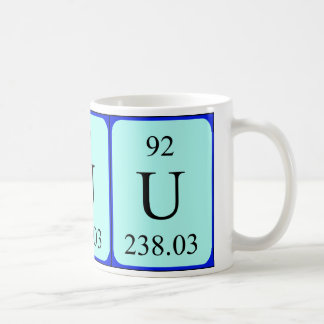 Element 92 mug - Uranium