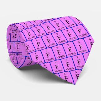 Element 9 tie - Fluorine
