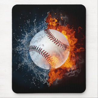 Element Baseball Mouse Pad