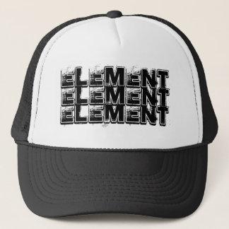 ELEMENT, ELEMENT, ELEMENT TRUCKER HAT