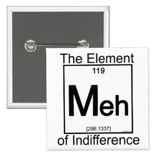 Element MEH 15 Cm Square Badge