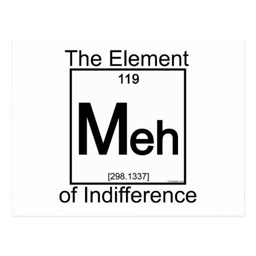 Element MEH Postcards