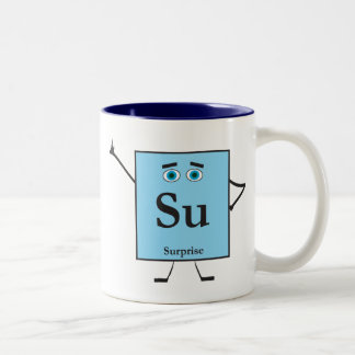 Element of Surprise Two-Tone Coffee Mug