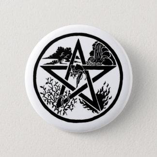 Element Pentacle Button